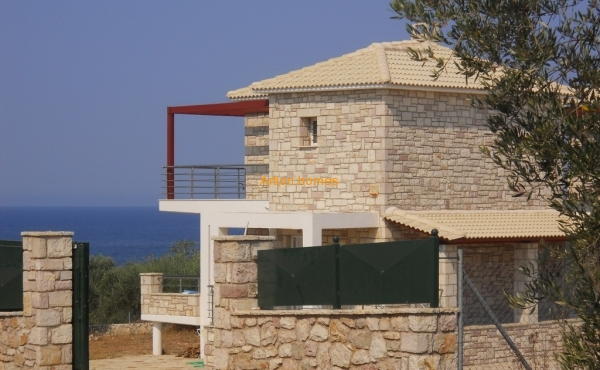 Newly built detached house