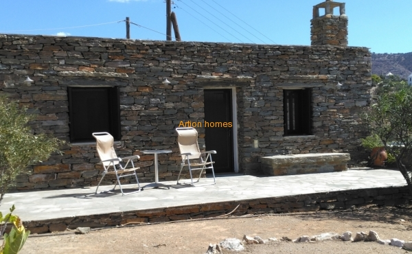 Detached House in Koundouros Kea, with unlimited sea view
