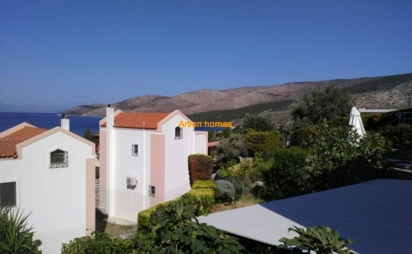 Newly build House only 100m from sea in Nimporio Styraion