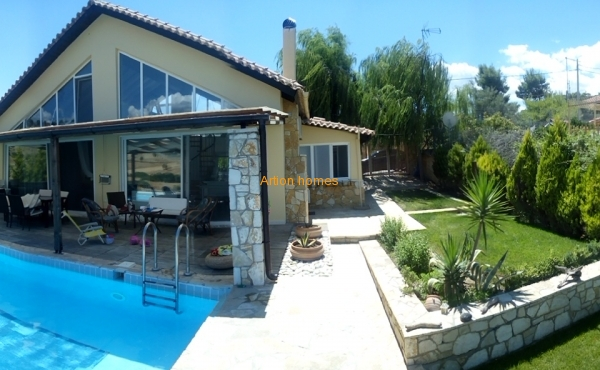 Maisonette in Alepochori, with unlimited view mountain - forest - sea view