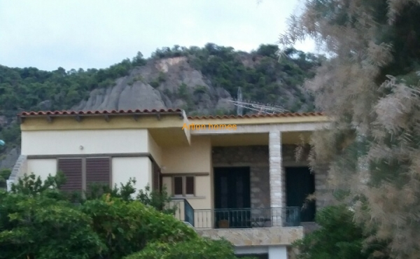 Detached House in Derveni, with unlimited view mountain - sea